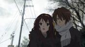 Скриншот аниме Исчезновение Харухи Судзумии