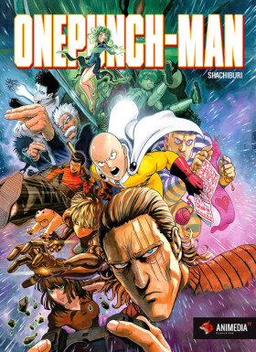 Постер аниме One-Punch Man