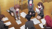 Скриншот аниме Девушки, покоряющие новые горизонты
