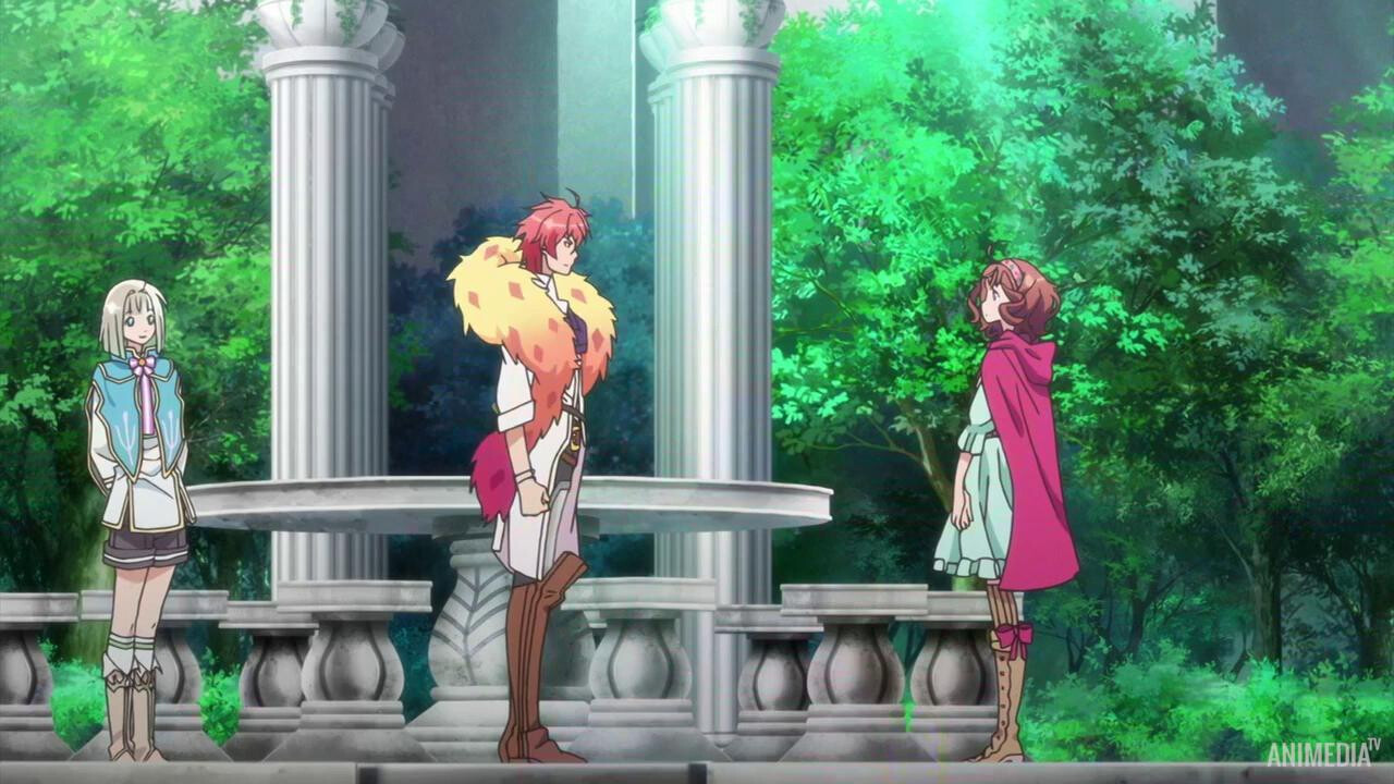 Скриншот *Дама и принц / Dame x Prince Anime Caravan [Сезон 1, Серия 1-12 из 12] 2018*
