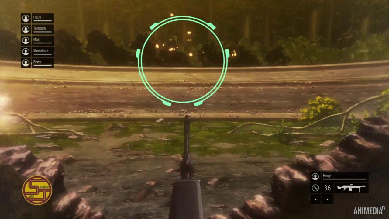 Скриншот *Мастера Меча Онлайн: Альтернативная «Призрачная пуля» / Sword Art Online Alternative: Gun Gale Online [Сезон 1, Серия 1-12 из 12] 2018*