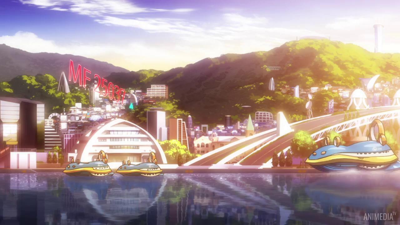 Скриншот *Из завтрашнего дня разноцветного мира / Цвета мира завтрашнего дня / Irozuku Sekai no Ashita kara [Сезон 1, Серия 1-12 из 12] 2018*