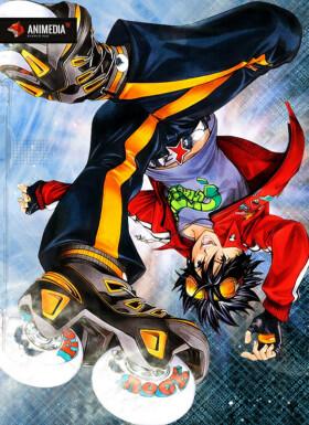 Постер аниме Air Gear
