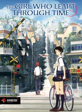 Онлайн аниме Девочка, покорившая время