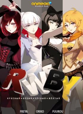 Онлайн аниме Красный, Белый, Черный, Желтый
