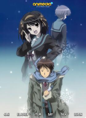 Онлайн аниме Исчезновение Харухи Судзумии